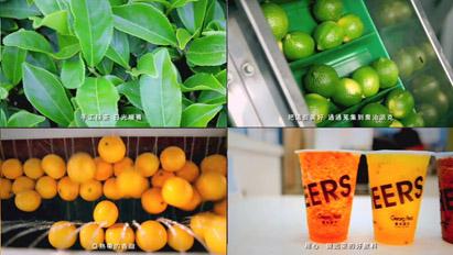 冰沙第一品牌 台湾乔治派克宣传片奶茶果汁饮品生产销售榨汁实拍