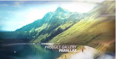 AE模板 旅游电子相册幻灯片屏幕切割特效转场快速切换 AE素材