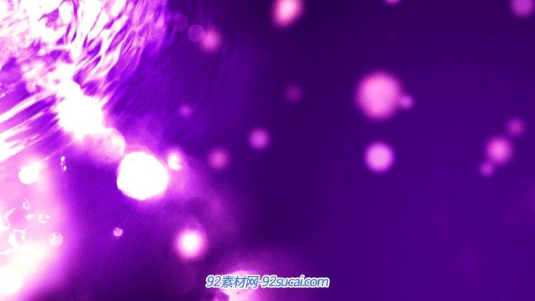 唯美紫色小唯目光炙�岜尘� 炫光ㄨ粒子光影水波�y�赢� ��B背景��l素材