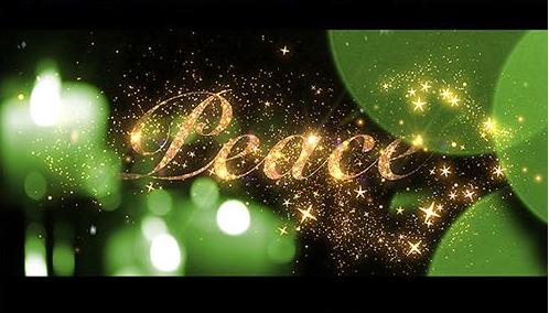 AE模板 魔幻圣诞节日快乐问候新年祝福 AE素材