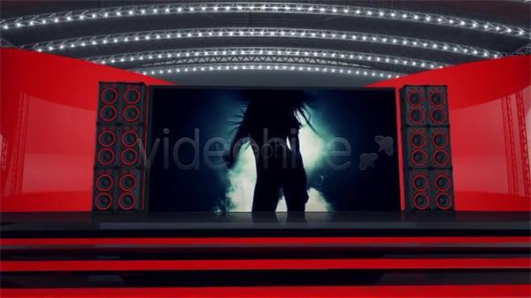 AE模板 动感激情灯光音响舞台视频展示模板 AE素材