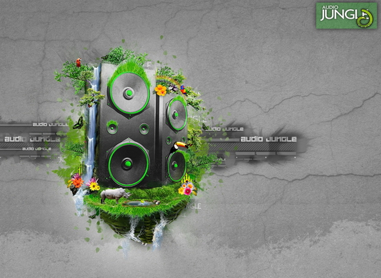 AE模板 圣诞节新年流行音乐配乐模板 AE素材