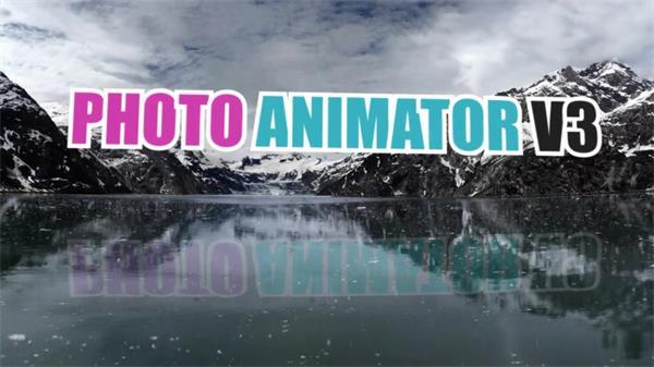 AE模板 酷炫静态图片转换立体动画展示模板 AE素材