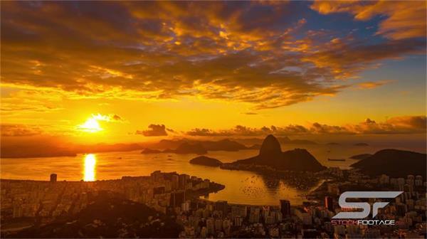 里约热内卢自然风景高楼大厦贫民窟 民众生活娱乐超清实拍