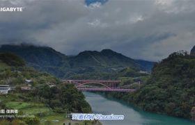 台湾城市建筑风貌名胜风景 人文风情车流超清实拍