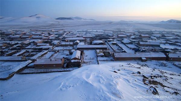 唯美赛罕冬季冰天雪地 摄影师雪地拍照高清实拍