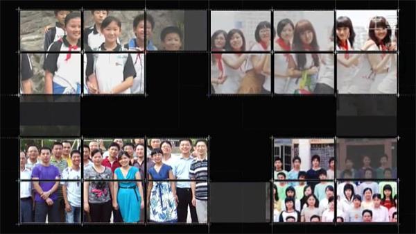 会声会影X6电子相册模板 同学聚会纪念电子相册片头视频