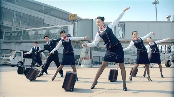 欢乐首都航空公司快闪形象宣传片高清实拍