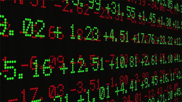 贸易金融股票证券买卖所钞票高清实拍