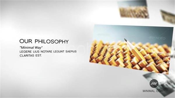 AE模板 大气扁平滑动特效企业公司形象品牌宣传模板 AE素材