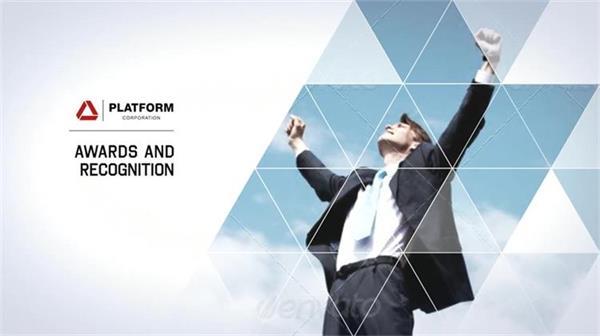 AE模板 大氣酷炫幾何滑塊拼接企業公司形象品牌宣傳模板 AE素材