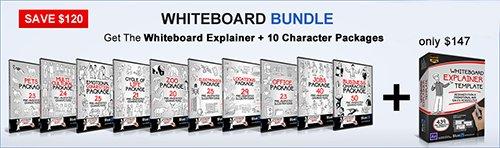 AE模板 简洁手绘卡通风格宣传介绍图文展示模板 AE素材