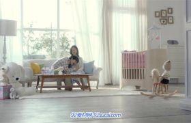家庭温馨呵护婴幼儿健康快乐成长 母婴广告宣传片
