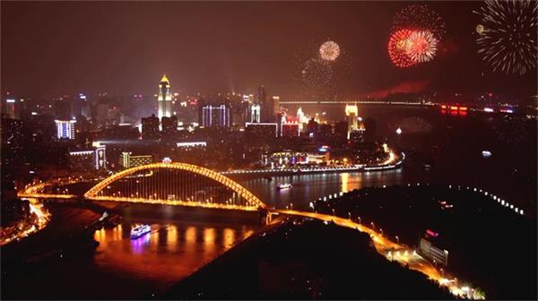 武汉风景名胜人文风情城市面貌 交通经济发展日夜景高清实拍