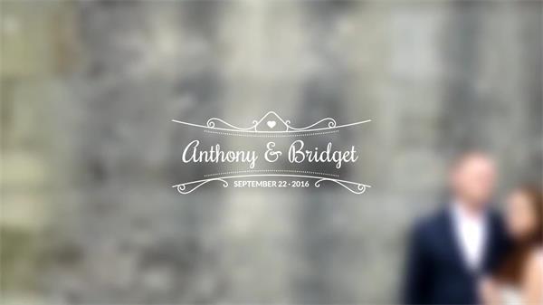 AE模板 优雅浪漫动态延伸字幕标题展示模板V4 AE素材