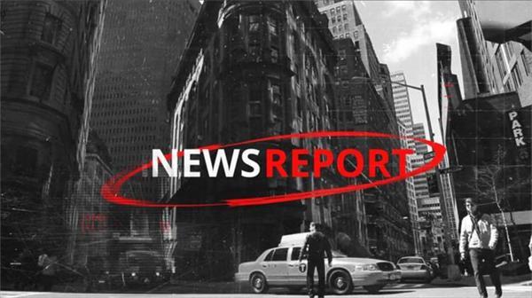 AE模板 酷炫快速转场新闻直播节目栏目包装 AE素材