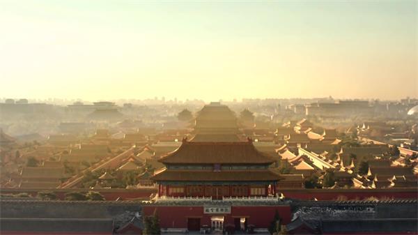 中国风元素历史文化遗产书法古钟宫殿高清实拍