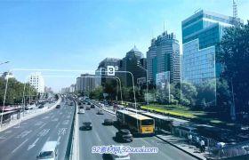 互联网+信息科技化变迁穿梭时代城市 互联网企业宣传视频素材