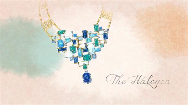 大气高贵豪华珠宝首饰宝石制作提炼 珠宝制造高清实拍