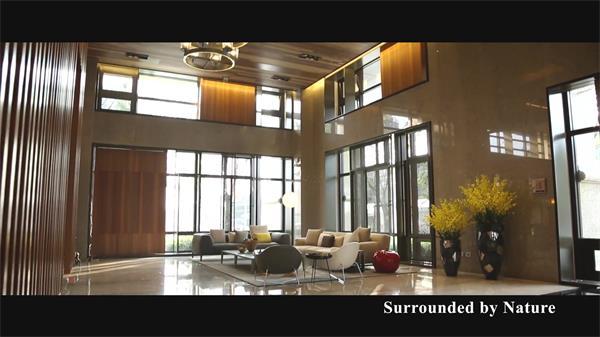 豪华高端物业楼盘建筑室内豪装房地产 房产建筑室内高清实拍