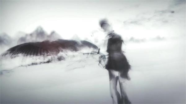 会声会影X6模板 经典中国风水墨动画历史变迁展示宣传片