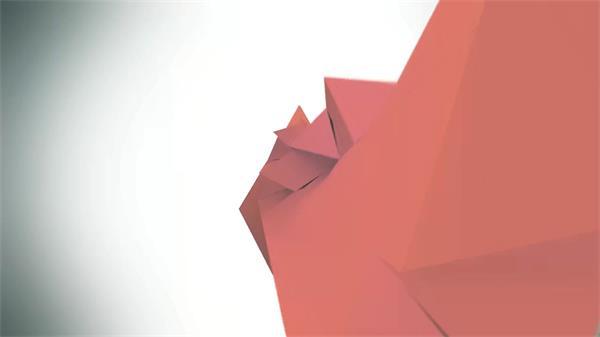 AE模板 立体拼接汇聚LOGO标志文字标题 AE素材