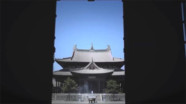 传统历史文化古典建筑寺庙佛像和尚 寺庙历史高清实拍