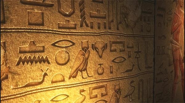 古代埃及文化异域风情历史壁画 埃及壁画高清实拍