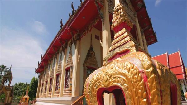 泰国普吉岛自然风光建筑特色海滩旅游景点高清实拍