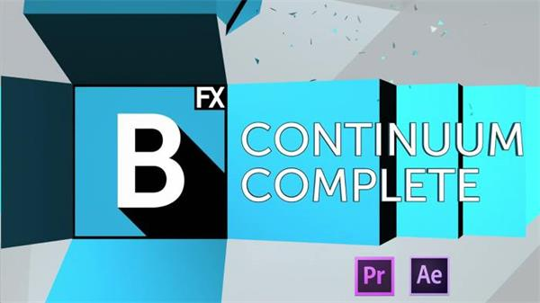 AE插件 ��X特效�D�霾濡婕�包 Boris Continuum Complete AEv10.0.1
