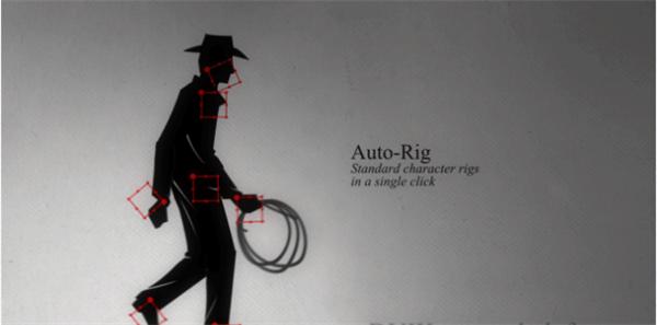 AE插件 人物角色綁定骨骼運動腳本插件Duik15.07+