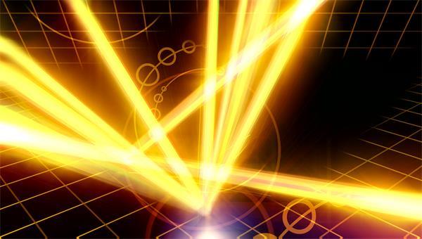 移动网格强光探射灯灯光盛宴LED背景视频素材