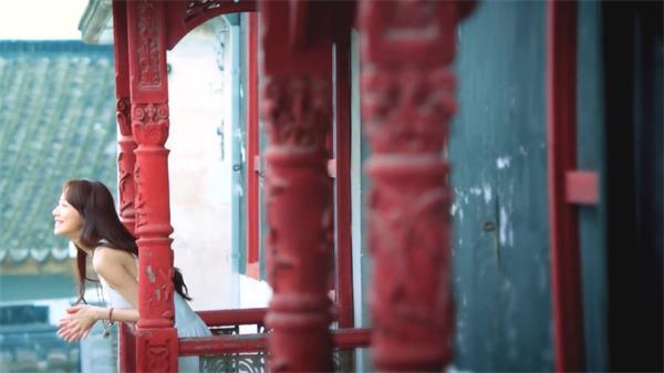 美女故游经典古镇建筑风土人情休闲生活婚礼现场高清拍摄