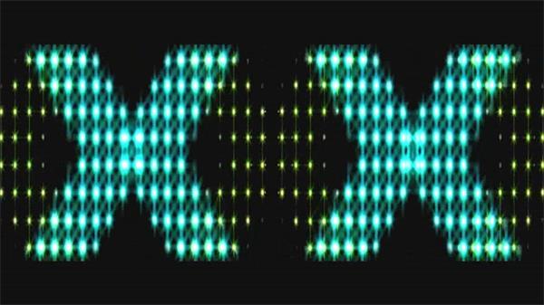 创意款式动感规则排版霓虹灯光闪烁背景视频素材