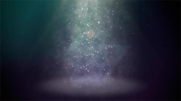 聚光烟雾光亮粒子舞台出场场景LED视频素材