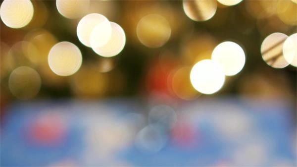 梦幻朦胧光斑粒子散光效果动态LED背景视频素材