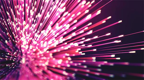 6款创意清新光效线条波纹粒子动态效果视频素材