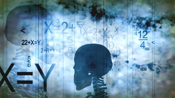 醫學數據科技研究工程學骨架旋轉視頻素材