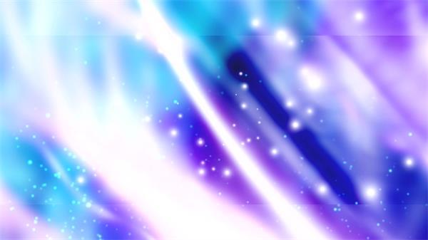 绚丽梦幻飘浮发光粒子LED背景动态视频素材