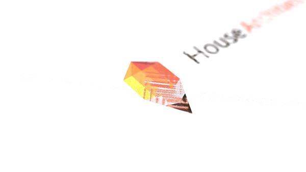 AE模板 简洁创意彩色手绘公司企业LOGO标志模版 AE素材