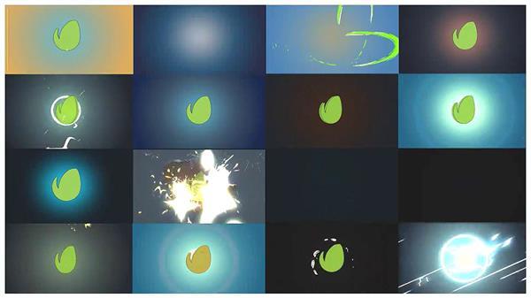 AE模板 60款炫酷快速卡通动画标志字幕标题揭示模版 AE素材