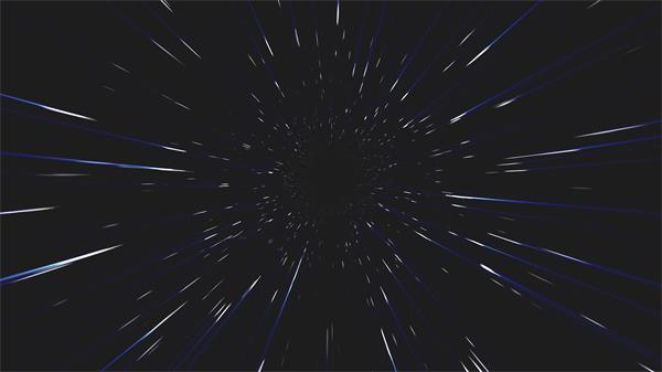 空间扭曲时代快速穿梭隧道视觉冲击动态视频素材
