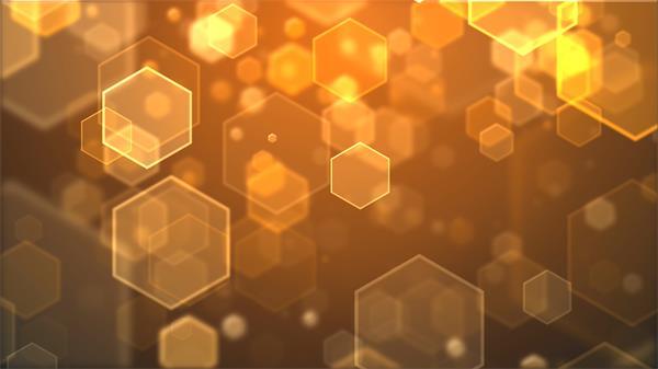 甜蜜华丽六角菱形蜜糖般温暖心窝背景视频素材