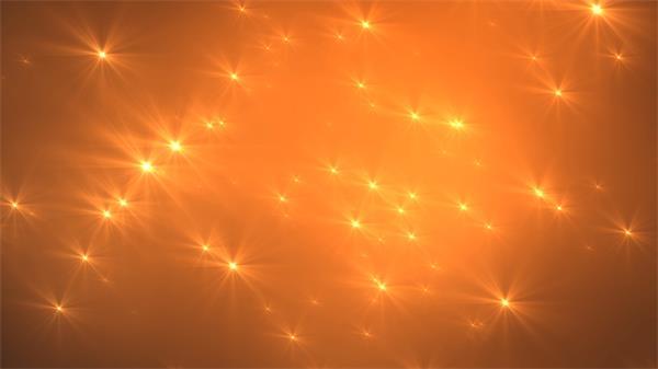 炫酷金色光粒游离快速飞舞舞台背景视频素材