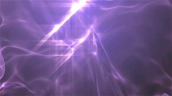 梦境唯美紫色离子挪动丝绸滑动配景静态视频素材