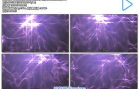 梦幻唯美紫色离子移动丝绸滑动背景动态视频素材