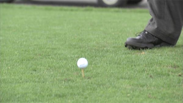品味高尚生活高尔夫运动实拍高清视频素材