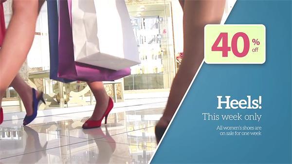 AE模板 直观完满切换展示产物告白宣传促销模版 AE素材