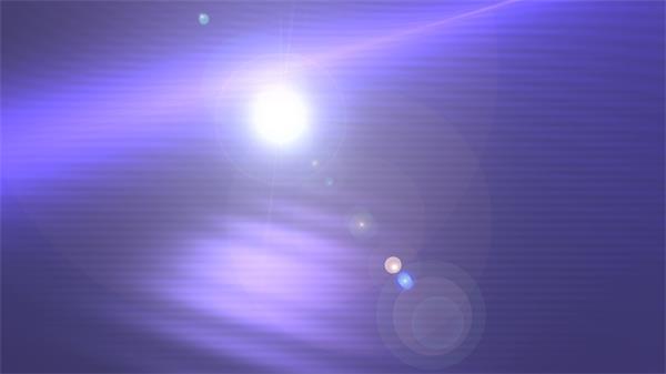 蓝色背景光晕照射移动镜头耀光LED背景视频素材