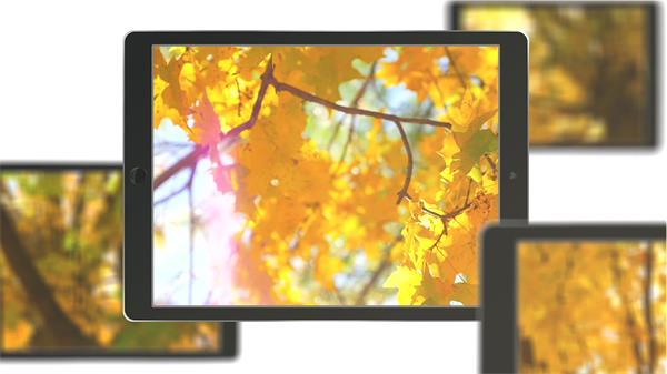 AE模板 科技商务平板分屏商业宣传幻灯片广告模版 AE素材